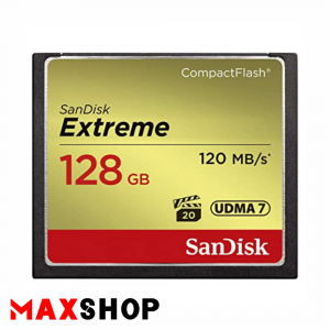 SanDisk 128GB Extreme 120MB/s CF Card