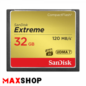 SanDisk 32GB Extreme 120MB/s CF Card
