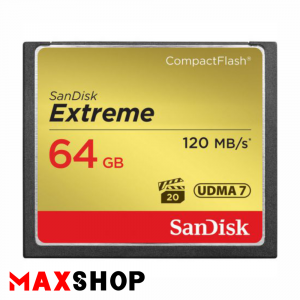 SanDisk 64GB Extreme PRO 120MB/s CF Card
