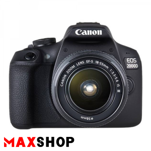 Canon EOS 2000D DSLR Camera with 18-55mm IS III Lens