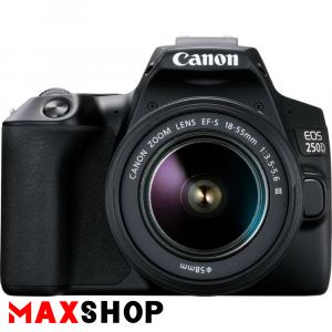 Canon EOS 250D DSLR Camera with 18-55mm III Lens