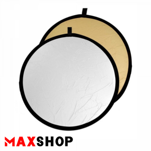 S and S 80cm Circular Gold-Silver Reflector