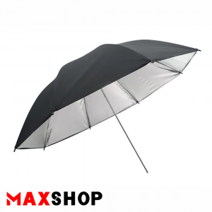 S and S 90cm Black-Silver Double Layer Photography Umbrella