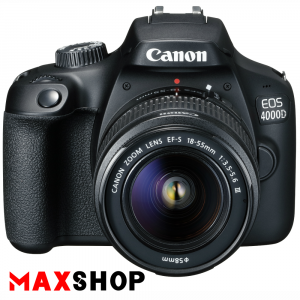 Canon EOS 4000D DSLR Camera with 18-55mm III Lens